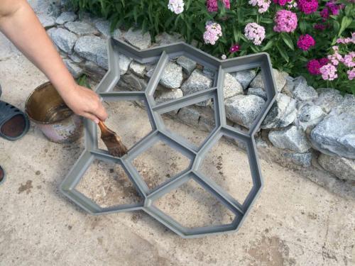 Кафель изготовление своими руками. Изготовление тротуарной плитки своими руками: пошаговая инструкция