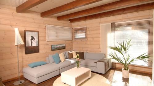 Отделка стен в загородном доме материалы. Внутренняя отделка дачного дома: лучшие варианты