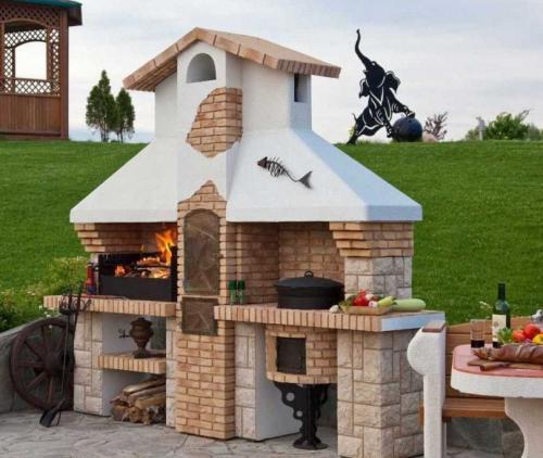 Барбекю на даче. Барбекю для дачи — виды, устройство и нюансы установки. Лучшие идеи оформления летних кухонь (135 фото)