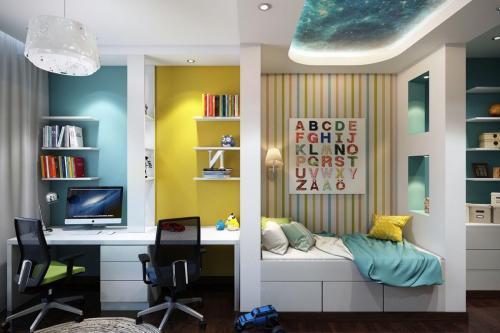 Детская комната. Организация детской комнаты